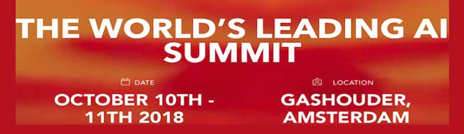 AI World Summit Amsterdam 2018
